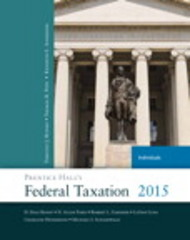 Prentice Hall's Federal Taxation 2015 Individuals 28th Edition 9780133772081 013377208X
