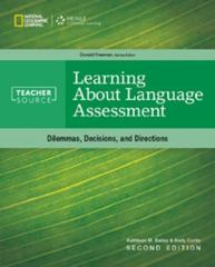 Learning About Language Assessment 2nd Edition 9781305120860 1305120868