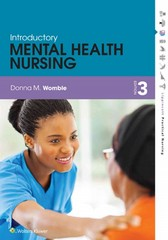 Introductory Mental Health Nursing 3rd Edition 9781451147148 1451147147