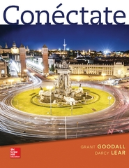 Conéctate: Introductory Spanish 1st Edition 9780073385259 0073385255