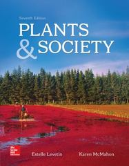 Plants and Society 7th Edition 9780077654726 0077654722