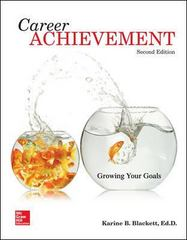 Career Achievement: Growing Your Goals 2nd Edition 9781259219009 1259219003