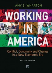Working in America 4th Edition 9781612057323 1612057322