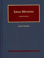 Legal Methods 4th Edition 9781609303341 1609303342