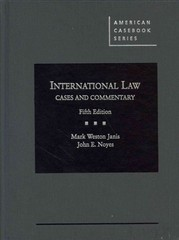 International Law, Cases and Commentary 5th Edition 9780314280411 0314280413
