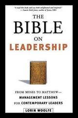The Bible on Leadership 1st Edition 9780814434918 0814434916