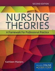 Nursing Theories 2nd Edition 9781284048353 1284048357