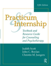Practicum and Internship 5th Edition 9781317625483 131762548X
