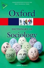 A Dictionary of Sociology 4th Edition 9780199683581 0199683581