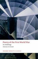 Poetry of the First World War 1st Edition 9780198703204 0198703201