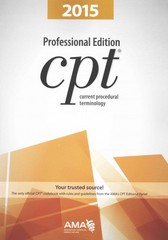 Current Procedural Terminology (CPT) Professional Edition 2015 1st Edition 9781622020263 162202026X
