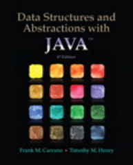 Data Structures and Abstractions with Java 4th Edition 9780133744057 0133744051