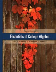 Essentials of College Algebra with Integrated Review and worksheets plus NEW MyMathLab with Pearson eText-- Access Card Package 1st Edition 9780321983886 0321983882