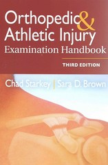 Orthopedic and Athletic Injury Handbook 3rd Edition 9780803645073 0803645074