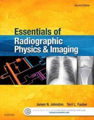Essentials of Radiographic Physics and Imaging 2nd Edition 9780323339667 0323339662