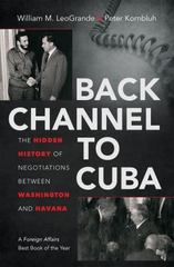 Back Channel to Cuba 1st Edition 9781469617633 1469617633