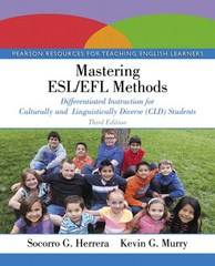 Mastering ESL/EFL Methods 3rd Edition 9780133832228 0133832228