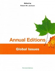 Annual Editions: Global Issues, 30/e 30th Edition 9781259142185 1259142183