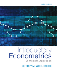 Introductory Econometrics 6th Edition 9781305446380 1305446380