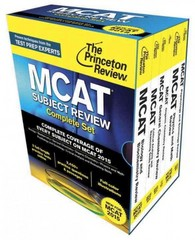 Princeton Review MCAT Subject Review Complete Box Set 1st Edition 9780804126328 0804126321