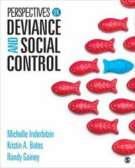 Perspectives on Deviance and Social Control 1st Edition 9781452288857 1452288852