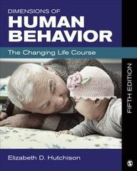 Dimensions of Human Behavior 5th Edition 9781483303901 148330390X