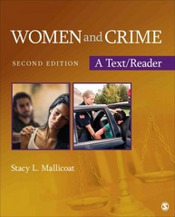 Women and Crime 2nd Edition 9781483356655 1483356655