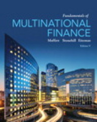 Fundamentals of Multinational Finance 5th Edition 9780133506815 0133506819