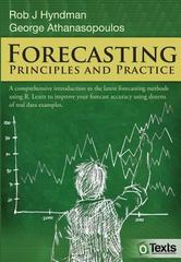 Forecasting 1st Edition 9780987507105 0987507109