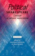 Political Shakespeare 2nd edition 9780719043529 0719043522