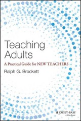 Teaching Adults 1st Edition 9781118903414 1118903412