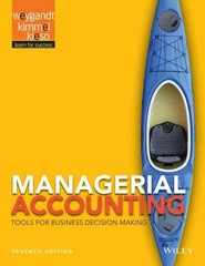 Managerial Accounting 7th Edition 9781118334331 1118334337