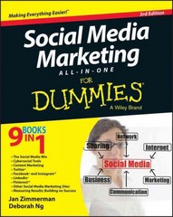 Social Media Marketing All-in-One For Dummies 3rd Edition 9781118951354 1118951352
