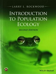 Introduction to Population Ecology 2nd Edition 9781118947579 1118947576