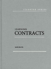 Learning Contracts 1st Edition 9780314285300 031428530X