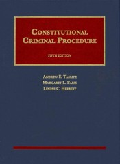 Constitutional Criminal Procedure, 5th 5th Edition 9781609302276 1609302273