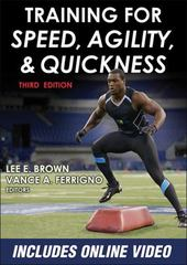 Training for Speed, Agility, and Quickness 3rd Edition 9781450468701 1450468705