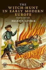The Witch-Hunt in Early Modern Europe 4th Edition 9781138808102 1138808105