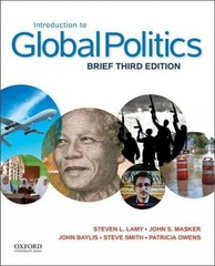 Introduction to Global Politics 3rd Edition 9780199396009 0199396000