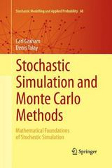 Stochastic Simulation and Monte Carlo Methods 1st Edition 9783642438400 3642438407