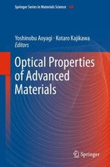 Optical Properties of Advanced Materials 1st Edition 9783642443510 3642443516