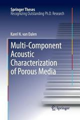 Multi-Component Acoustic Characterization of Porous Media 1st Edition 9783642431418 3642431410