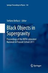 Black Objects in Supergravity 1st Edition 9783319033464 3319033468