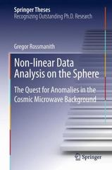 Non-Linear Data Analysis on the Sphere 1st Edition 9783319033372 3319033379