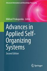 Advances in Applied Self-Organizing Systems 2nd Edition 9781447158998 1447158997