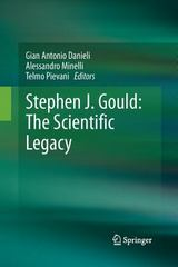 Stephen J. Gould: the Scientific Legacy 1st Edition 9788847056183 8847056187