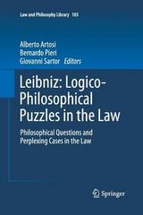 Leibniz: Logico-Philosophical Puzzles in the Law 1st Edition 9789400793071 9400793073