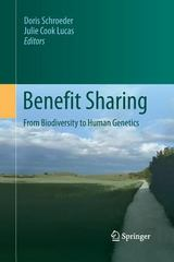 Benefit Sharing 1st Edition 9789400796188 9400796188