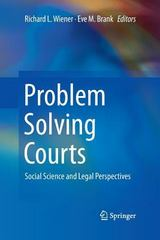 Problem Solving Courts 1st Edition 9781461474036 1461474035