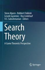 Search Theory 1st Edition 9781493900671 1493900676